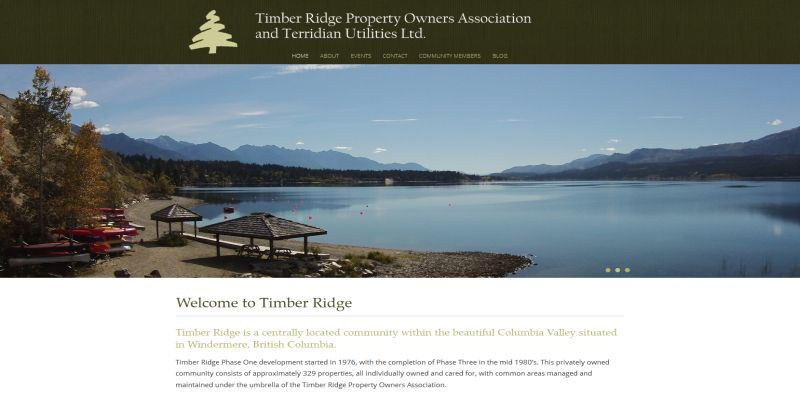 Timber Ridge Property Owners Association